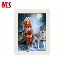 5d anime picture of wolf girl
