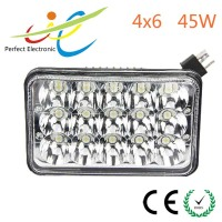 "Best price 5"" 4x6 45w Land Cruisers ,truck trailer led driving light, headlight"