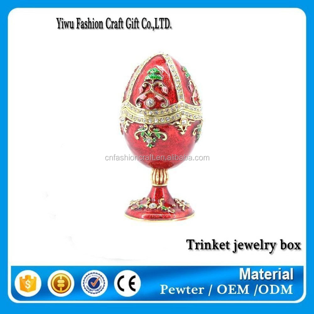 Wholesale Cheap Decorative Hand Painted Metal Faberge Egg ...