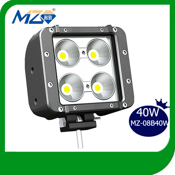Guangzhou Mingzhi Jeep Compass Accessories 40W Double Row Cree LED Work Lamp Outdoor Strip Light Bar