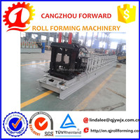 metal building Cold formed light gauge galvanized steel perforated slotted c type lipped channel roof truss roll forming machine