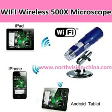 Portable usb microscope with wifi transmission function