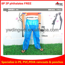 Disposable PE Pants for outdoor events