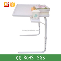 Multi-functional home movable adjustable floor stand laptop table computer table for sale