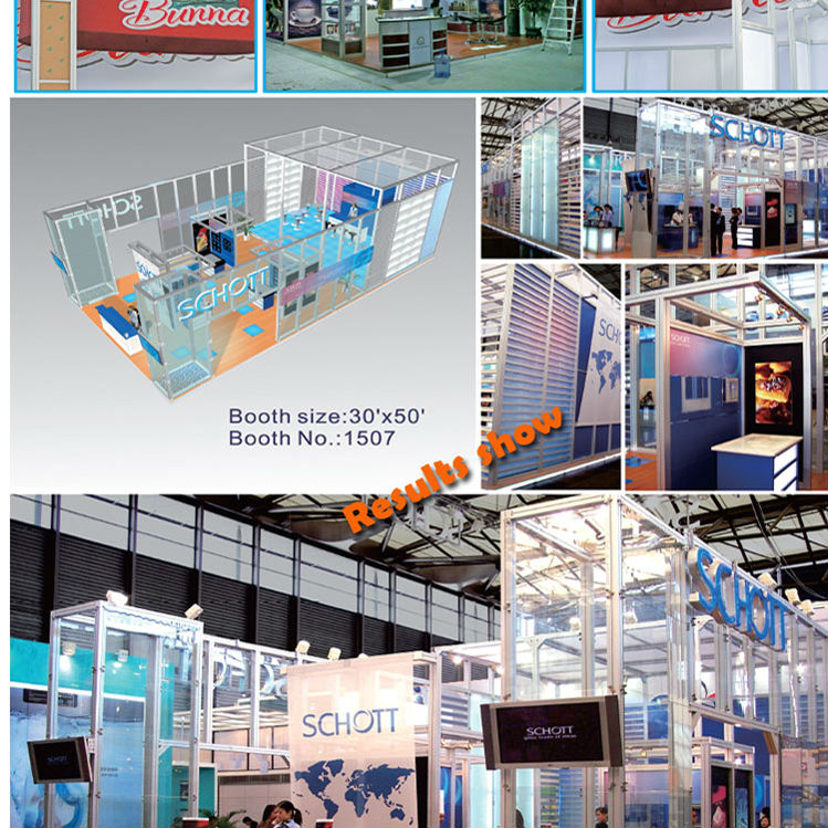 China design & customize portable Exhibition booth portable display