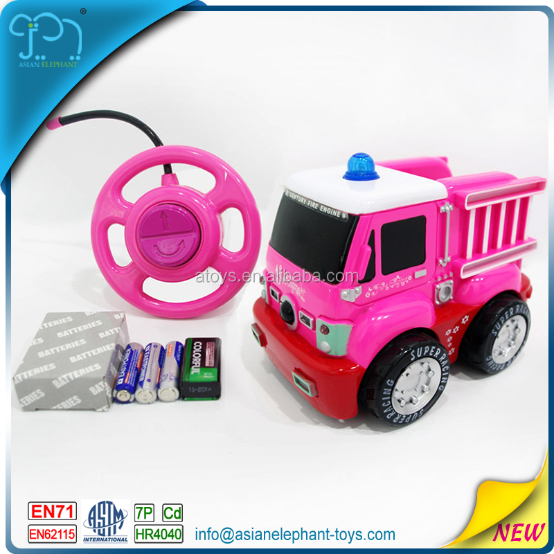 2 CH RC Cartoon Super Truck Toys For Kids Promotional Toy Mini Truck With ASTM