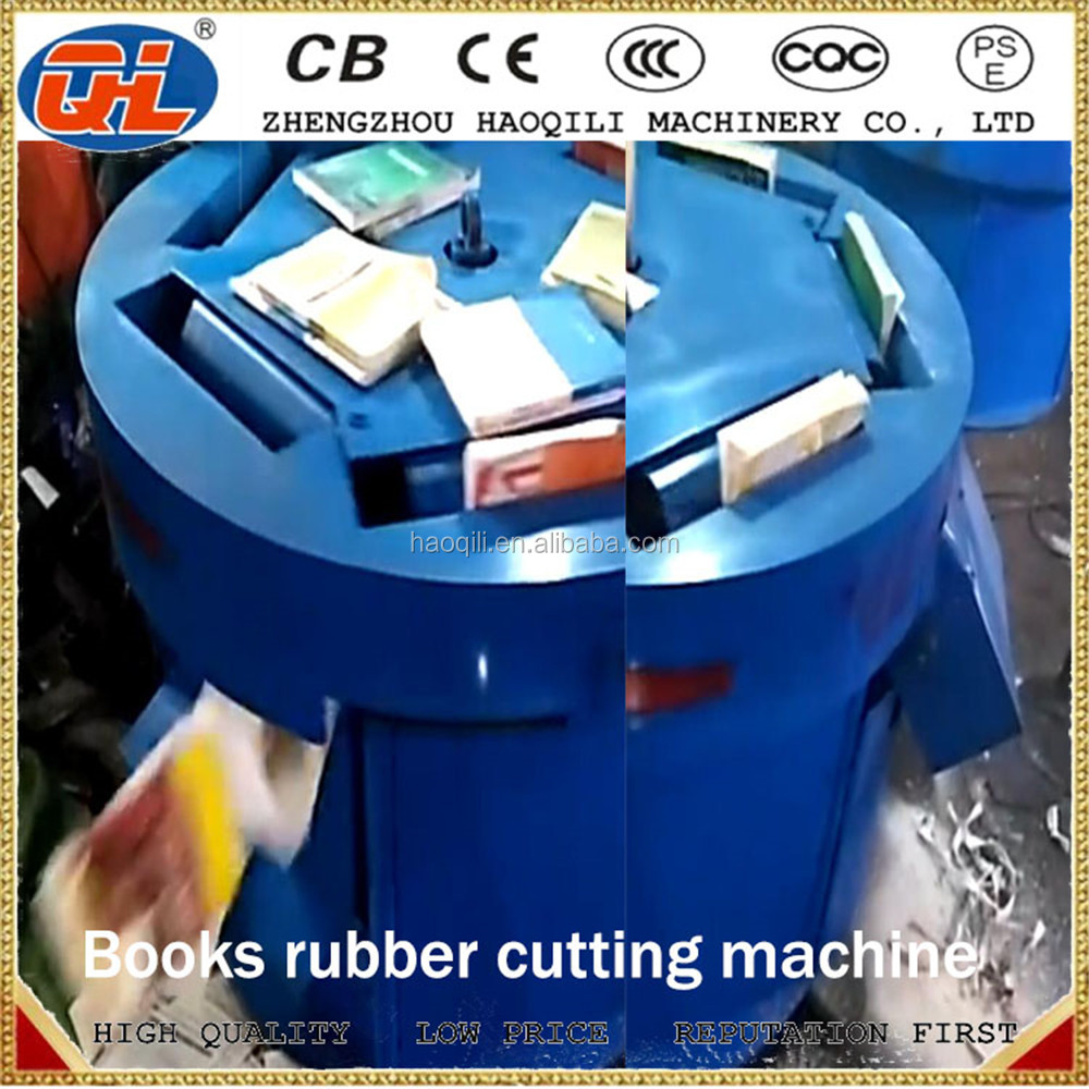 electric automatic 1ton hourly rotary book glue cutter and cover peeler Used Book Photo Album Binding Cutting Machine