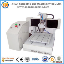 Factory promotion mini CNC router machine for wood with 300*300mm worktable CE approval