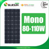 China supplier solar cell module solar system mono 100w solar panel
