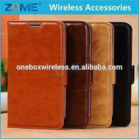 For Samsung Note 3 Wallet Flip PU Leather Case Card Holder Strap Stand Case