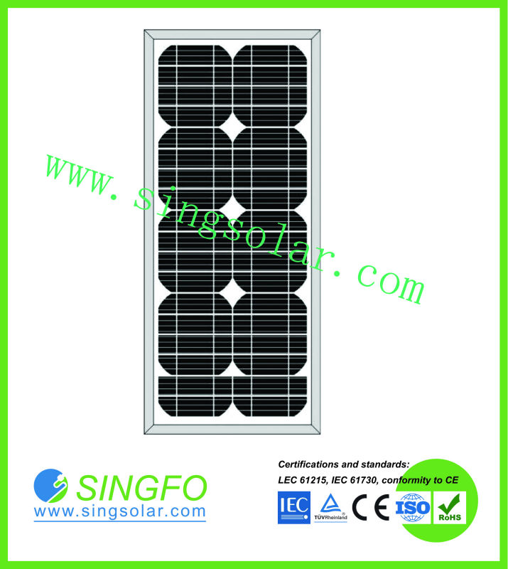 Newest Product Hot Sale High Efficiency mono or poly PV solar modules