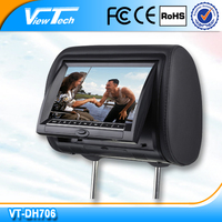 7 inch headrest dvd player E-Mark with factory price