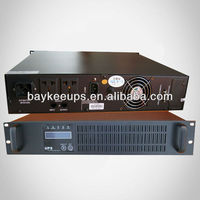 Baykee HS-1KRH Without Battery Long time Backup High Frequency 1kva Online Rack-mounted UPS