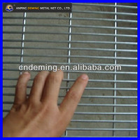 galvanized 358 anti climb security fence ( Factory & Exporter )