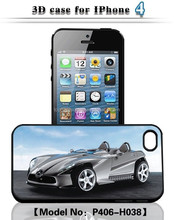 digital phone case 3d printer for iPhone 4 funky car mobile phone case