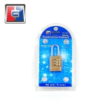 3 digits TSA lock GYM lock luggage padlock combination lock