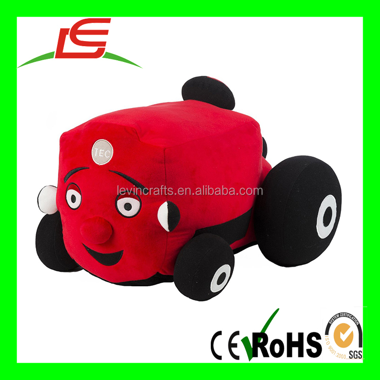 2015 Customized plush car toys for kids Gifts for children plush baby soft toy car
