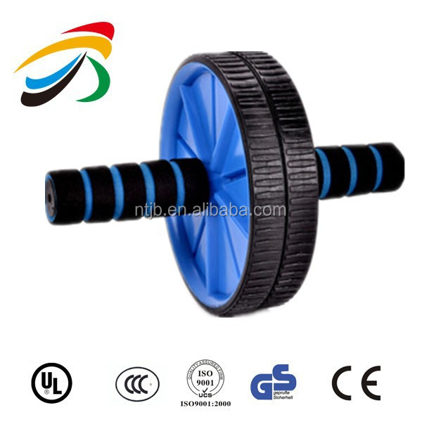 Hot Sale Dual Ab Wheel for Abs Abdominal Roller Workout Exercise Fitness