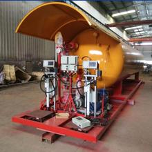 25MT LPG Filling Plant Portable Propane Gas Skid Station
