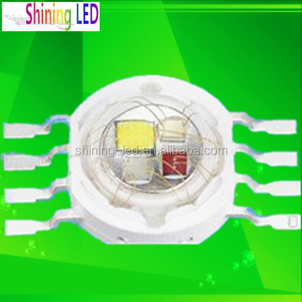 Full Colors 4W High Power LED RGBW Chip