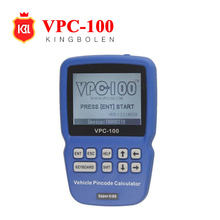 2017 Professional VPC100 Hand-Held Vehicle PinCode Calculator VPC-100 Pin Code Digital reader with 300+200 Tokens Online Update