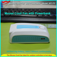 USB charge OEM low price rechargeable mouse cold room fan motor