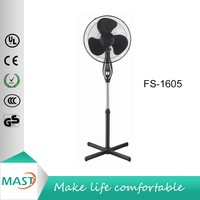 "Mast FS-1605 45W 100% full copper motor 16"" Stand Fan with CE approval"
