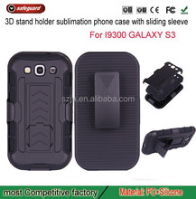 stand robot pc silicone case for samsung galaxy s3