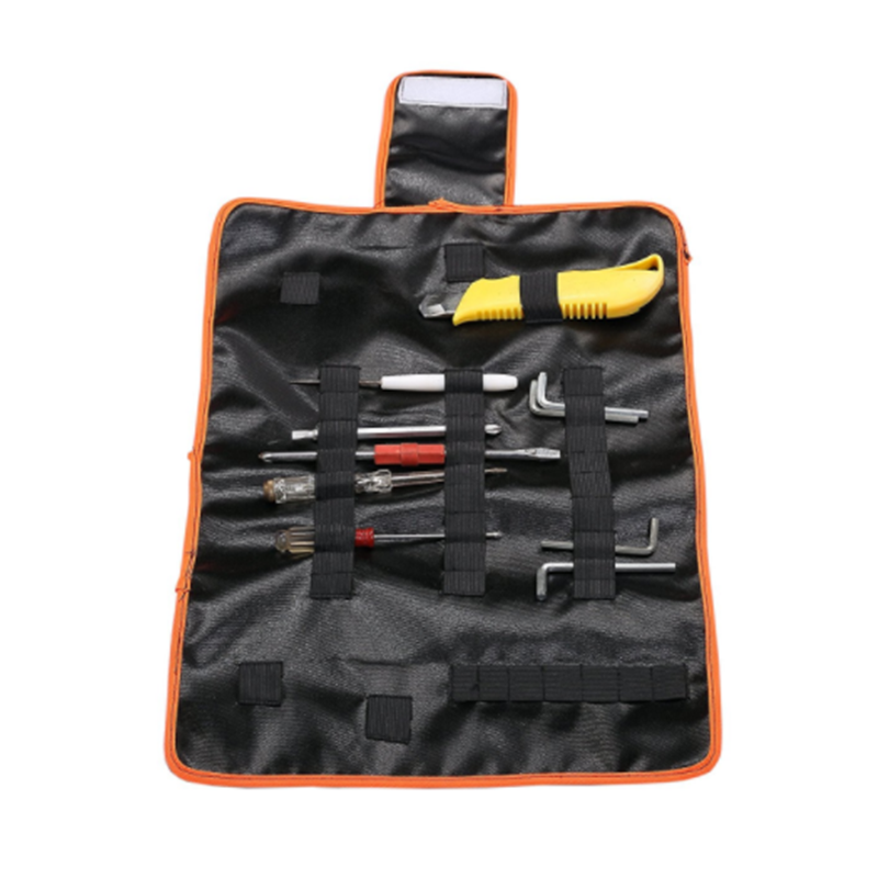 custom logo knife packing bag folding roll up tool bag
