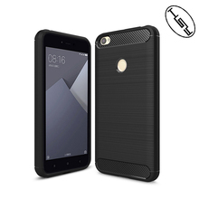 HUYSHE Hot selling for Xiaomi Redmi Note 5A High Edition mobile phone back cover carbon fiber tpu case