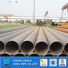 SCH80 carbon steel seamless pipe with oil painting