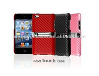 Mobile phone leather case back covers for iPod touch 4/ iTouch 4