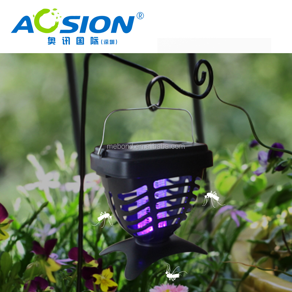 Aosion solar insect killer lamp with LED Light