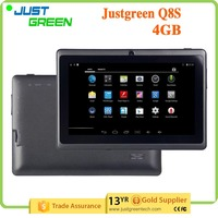 Justgreen Q8S Tablet PC Android 4.4 OS RAM 512MB ROM 4GB Tablet PC 7 inch 5 Point Touch Capacitive Screen Tablet PC