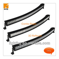 41.5 inch 240W 4x4 Cree Led Car Light, Curved Led Light bar Off road,auto led light arch bent