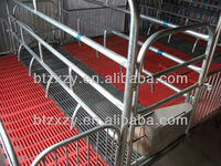 cast iron pig slat floor in pig breeding farm