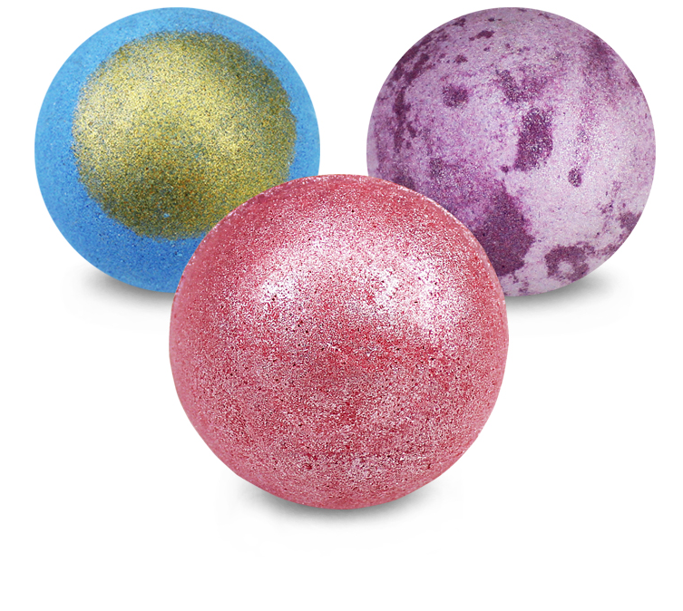 Natural custom cheap private label fizzy bath bombs organic