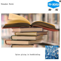 Synthetic polymer based book binding hot melt glue