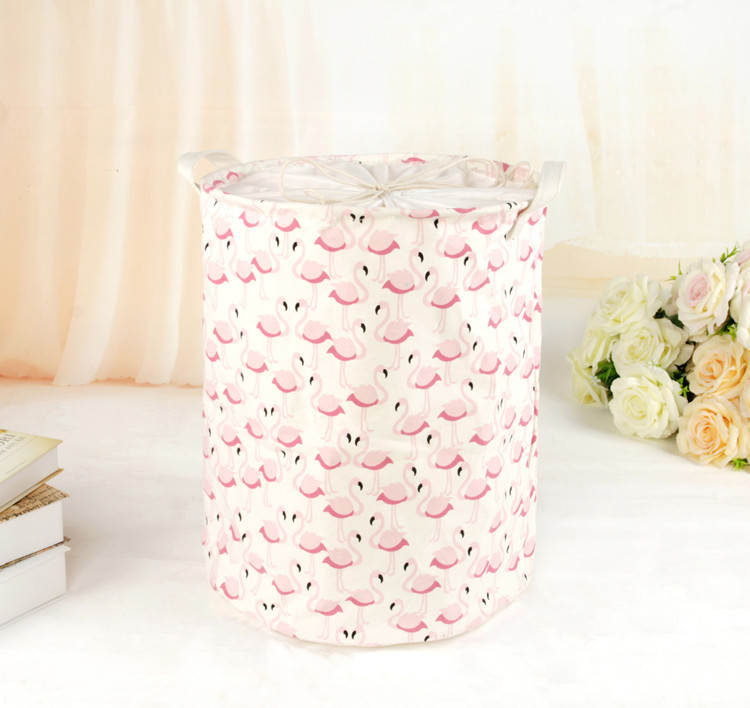 Cotton Fabric Art Home Furnishing Bedroom Beam Port Dirty Clothes Storage Basket