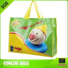 Hot sale custom many color recycled shopping laminated nonwoven pp bags