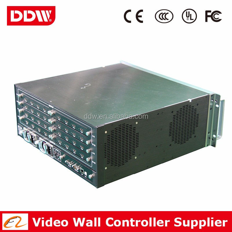 LCD video wall display 1080p with video wall controller support 2K/4K solution