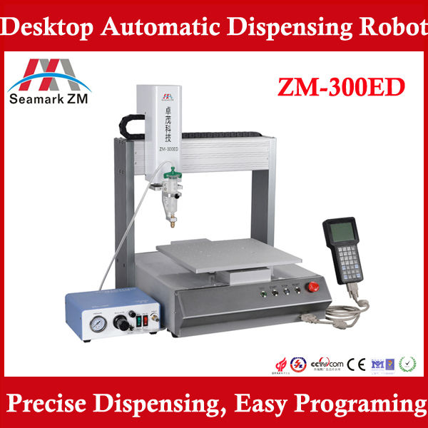 automatic control glue dispensing machine ZM-300ED 2 Component Epoxy Glue CNC Robot Dispensing System