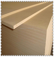 Wood Fiber Material Laminated MDF board