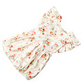Baby Girl Boutique Floral Print Vintage Bubble Romper With Top Quality