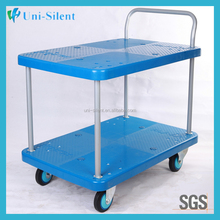 Appealing Hotel Restaurant Bar Kitchen Accessory Plastic Kitchen Trolley Cart Tea Trolley
