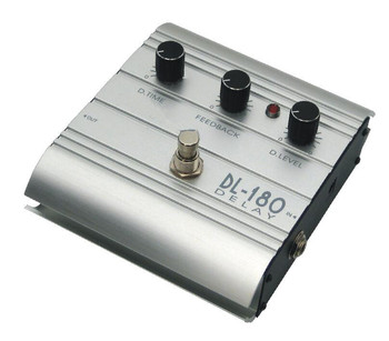 Newest Delay effect pedal with excellent appearance DL-180 for guitar