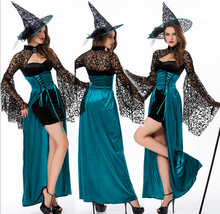 Halloween Fashion Fancy Costumes Women Charming Devil Enchantress Costumes Sexy Witch Dress
