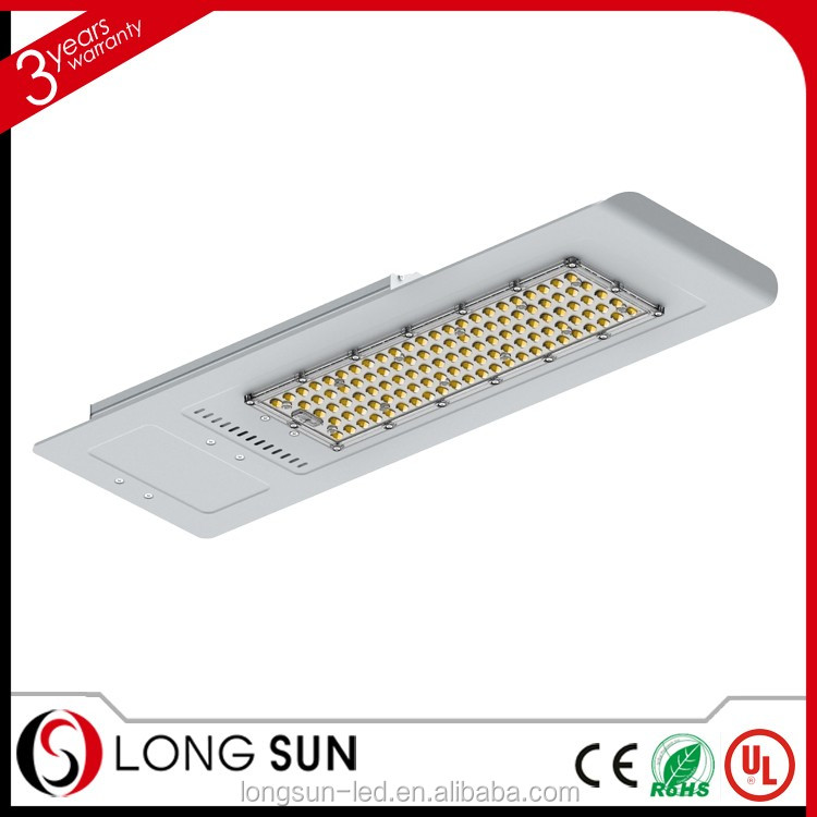 Bisu new arrival integrated road lamp IP65 120W led street light all in one street light