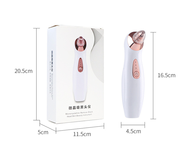Pore cleaning USB electric blackhead remover vacuum blackhead Deacne