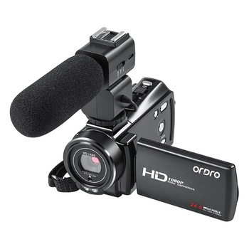 Ordro 1080P 24MP HD Video Camera Beauty Function16X Digital video camera full HD camera